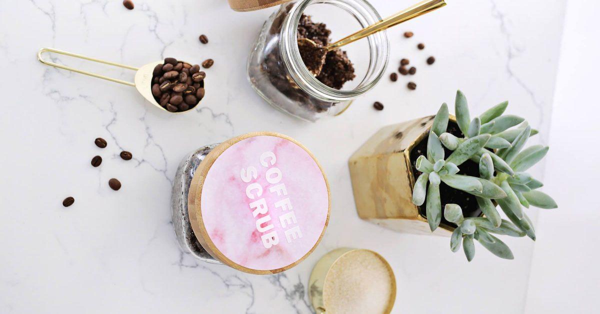 Exfoliant naturel à base de graine de café