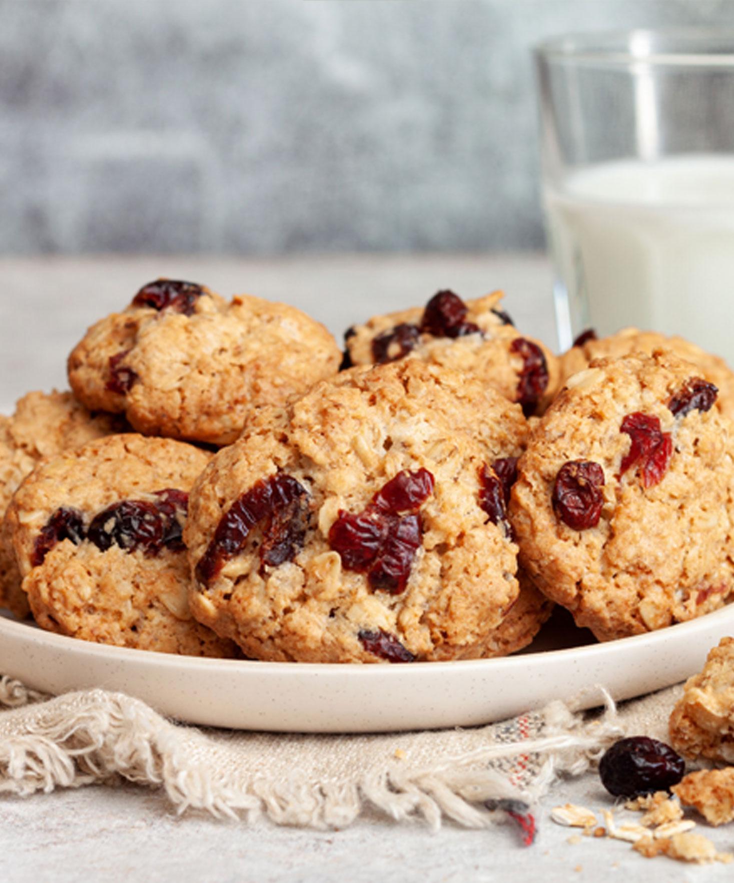 Délicieux cookies sains et gourmands à déguster !