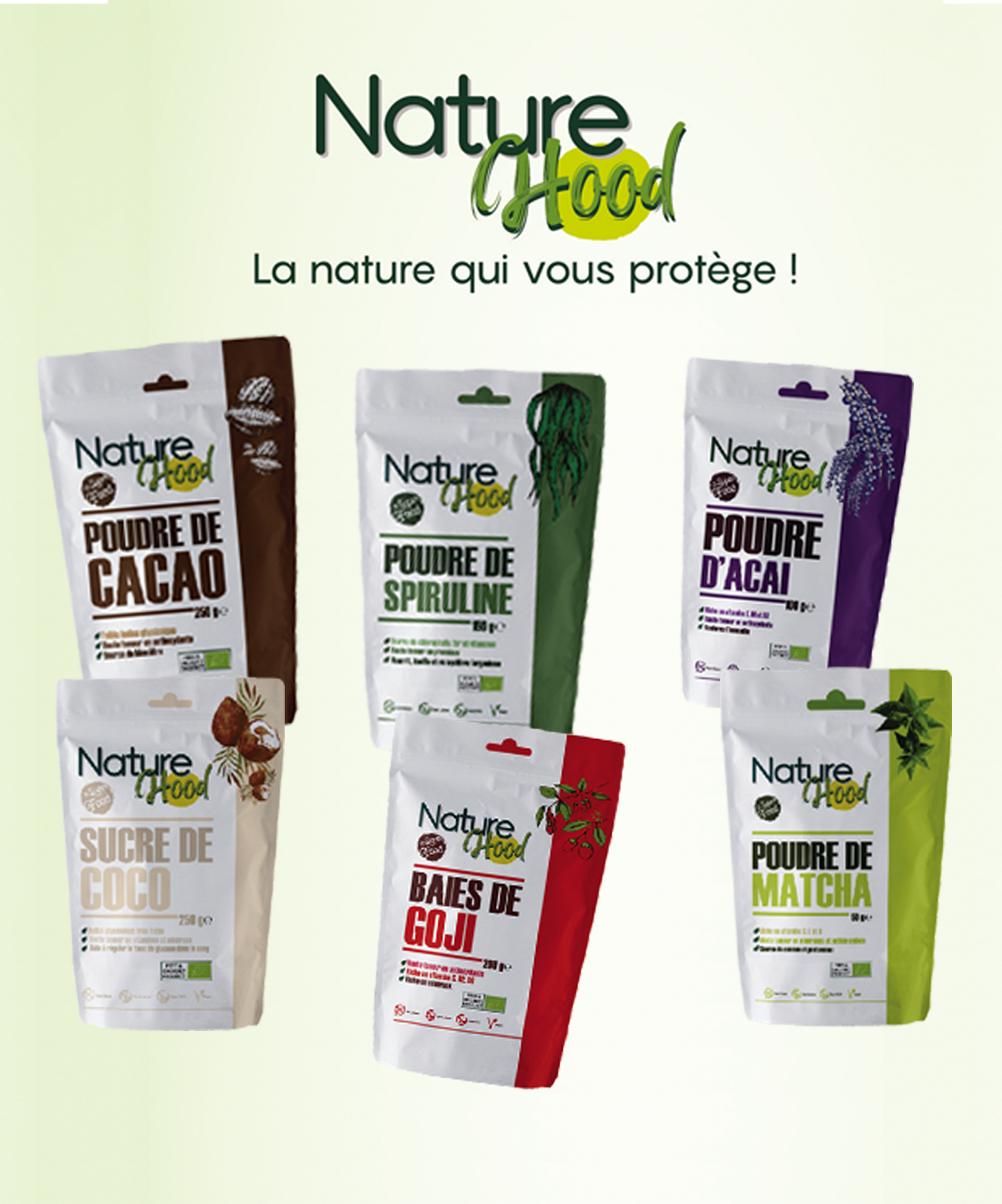 Nature Hood, la joie du Healthy Food