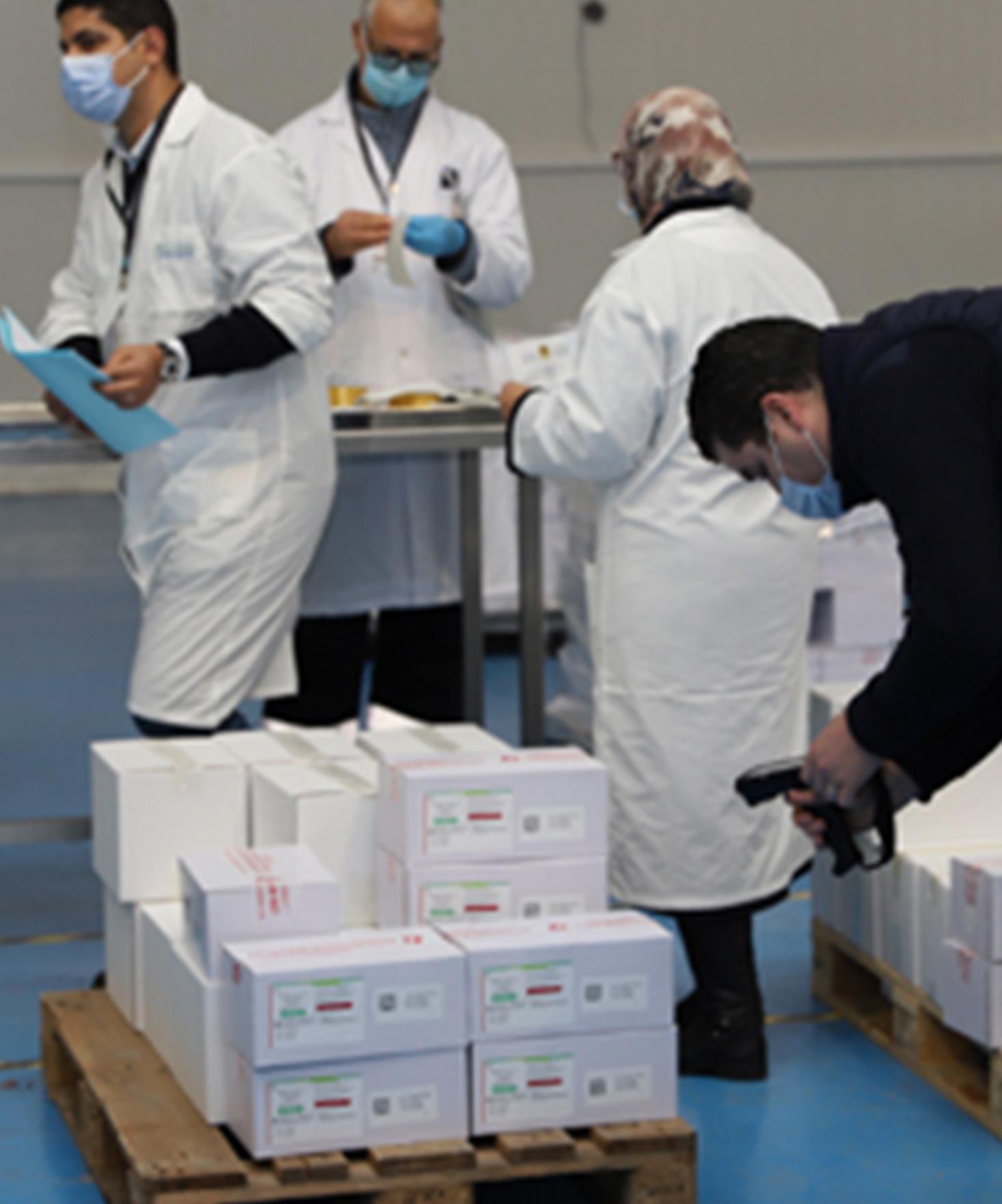 Casablanca : Début de la distribution du vaccin anti-coronavirus sur les régions