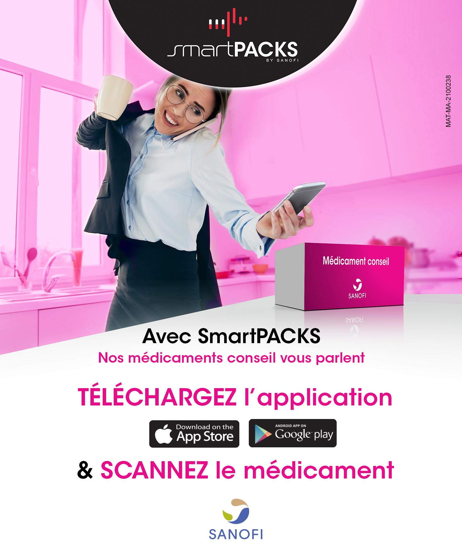 Smart Packs :  Plus qu'une application, une vraie solution