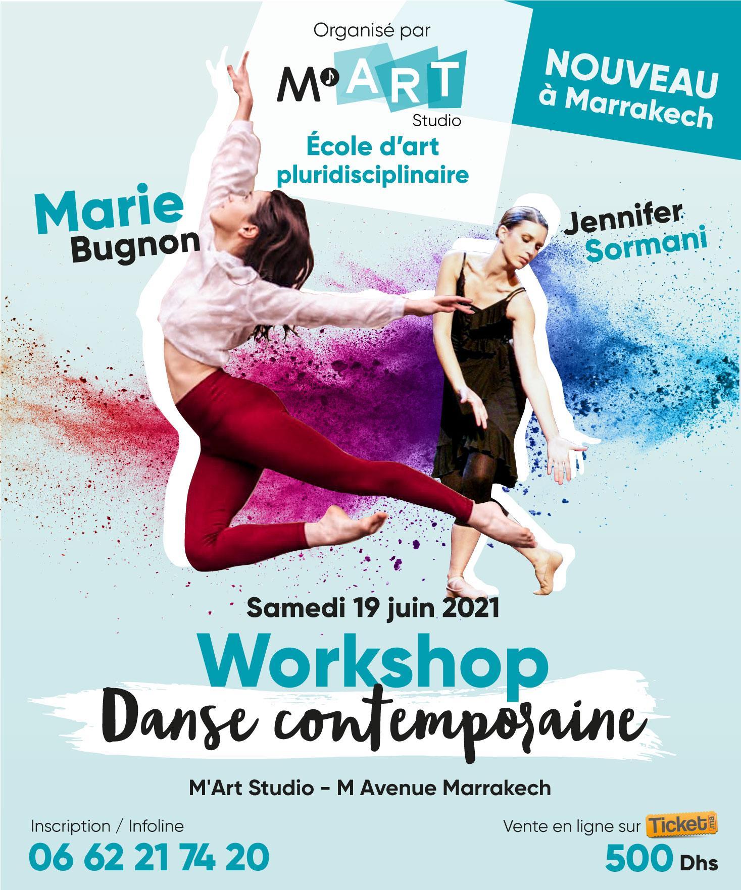 M'Art Studio organise un événement artistique inédit à Marrakech Avec Marie Bugnon & Jennifer Sormani