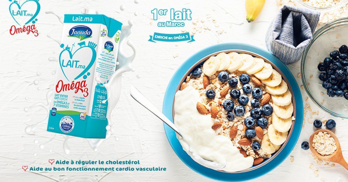 lait omega 3