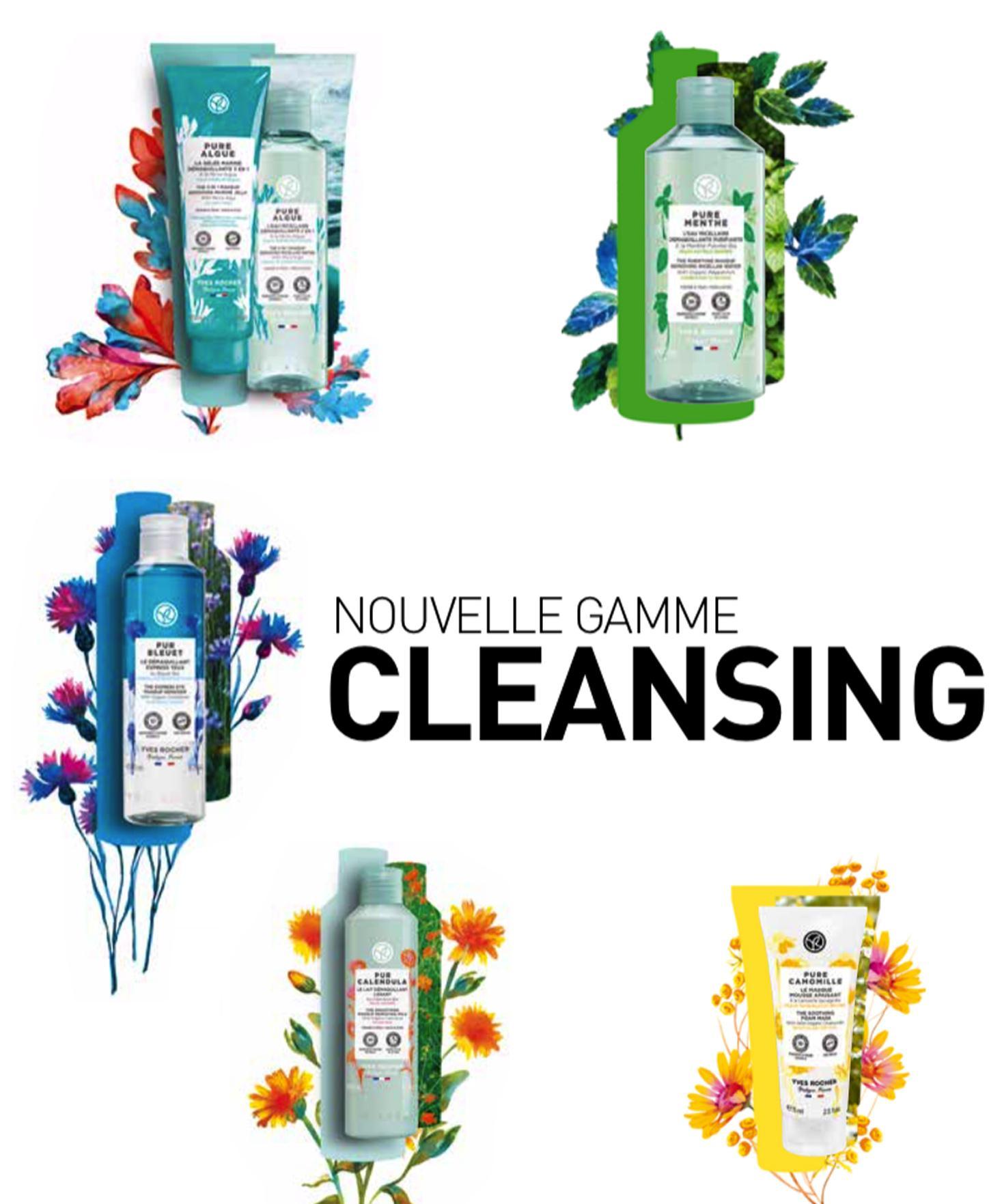 Votre nouvelle gamme Cleansing pour une peau parfaitement clean