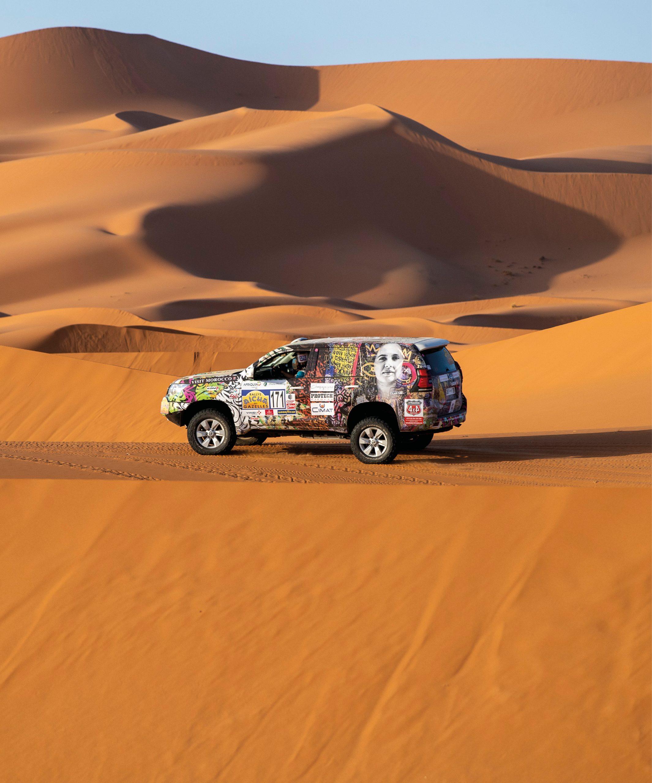 Le Rallye Aïcha des Gazelles fete ses 30 ans