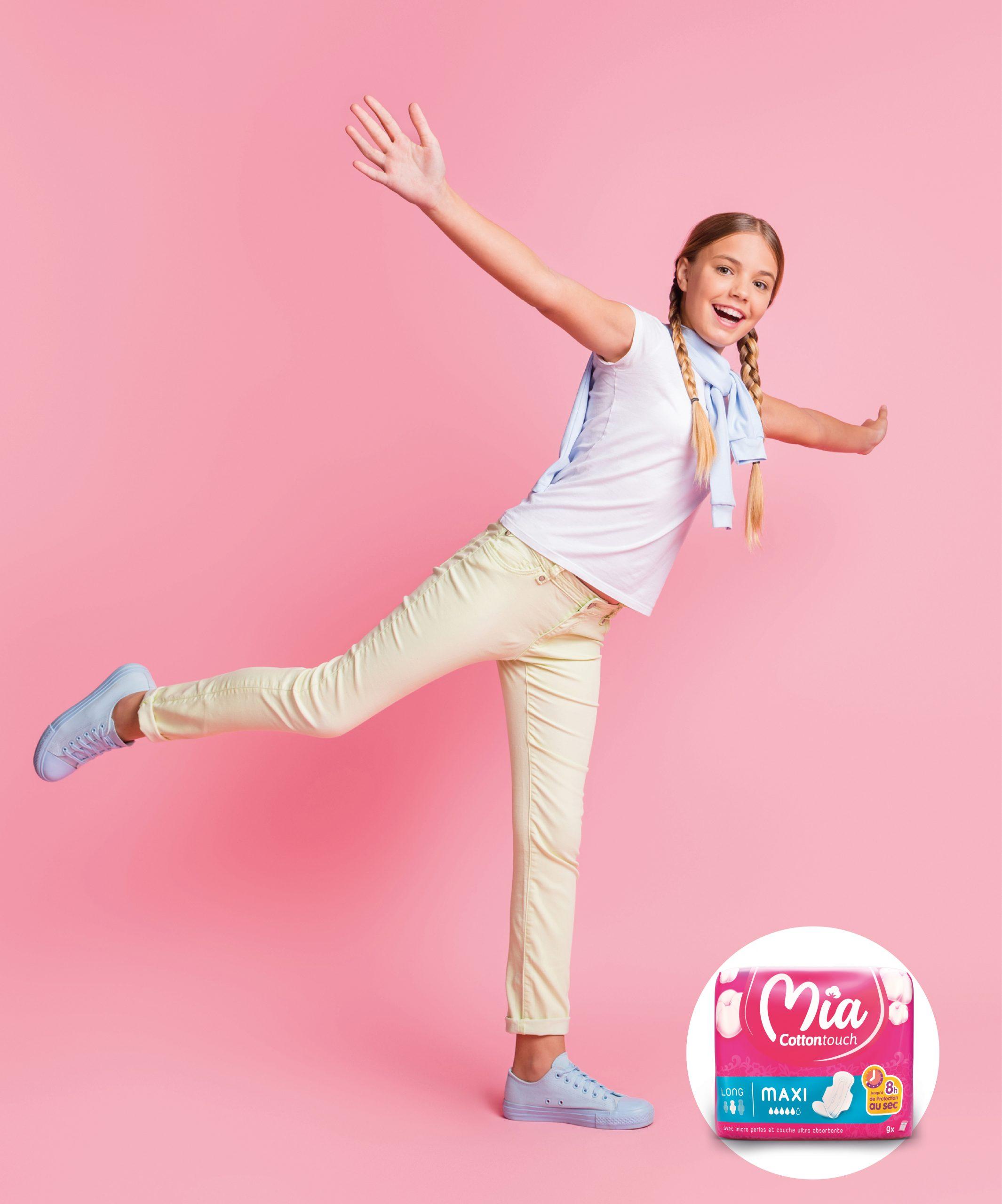 Mia : Premières règles : Le guide complet pour jeune fille